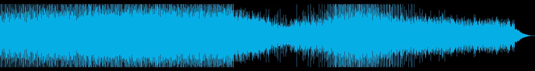 CM,各種映像等に メロウなテクノポップの再生済みの波形