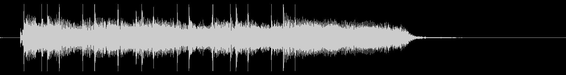 サウンドロゴ、ジングル、エレキギターの未再生の波形