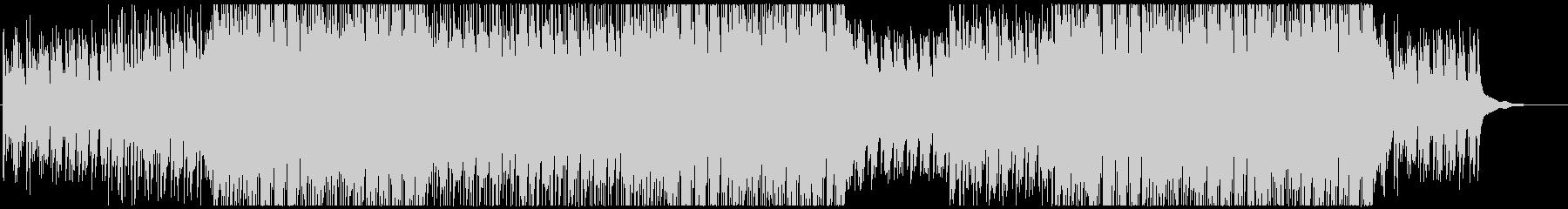 キャッチーなピアノポップの未再生の波形