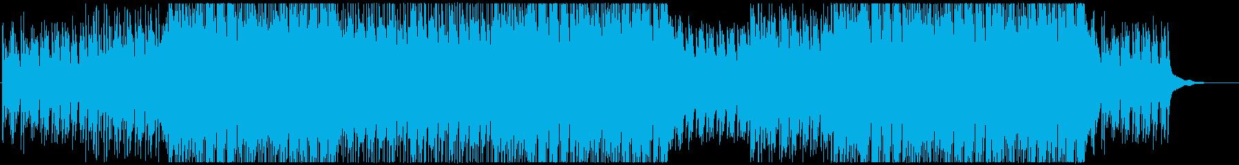 キャッチーなピアノポップの再生済みの波形