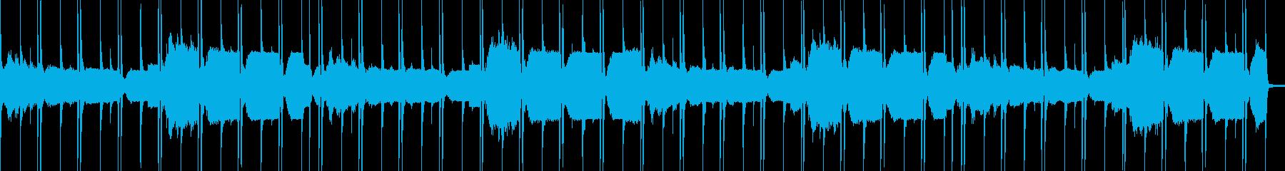 ループ/ピアノのLo-Fi Hiphopの再生済みの波形