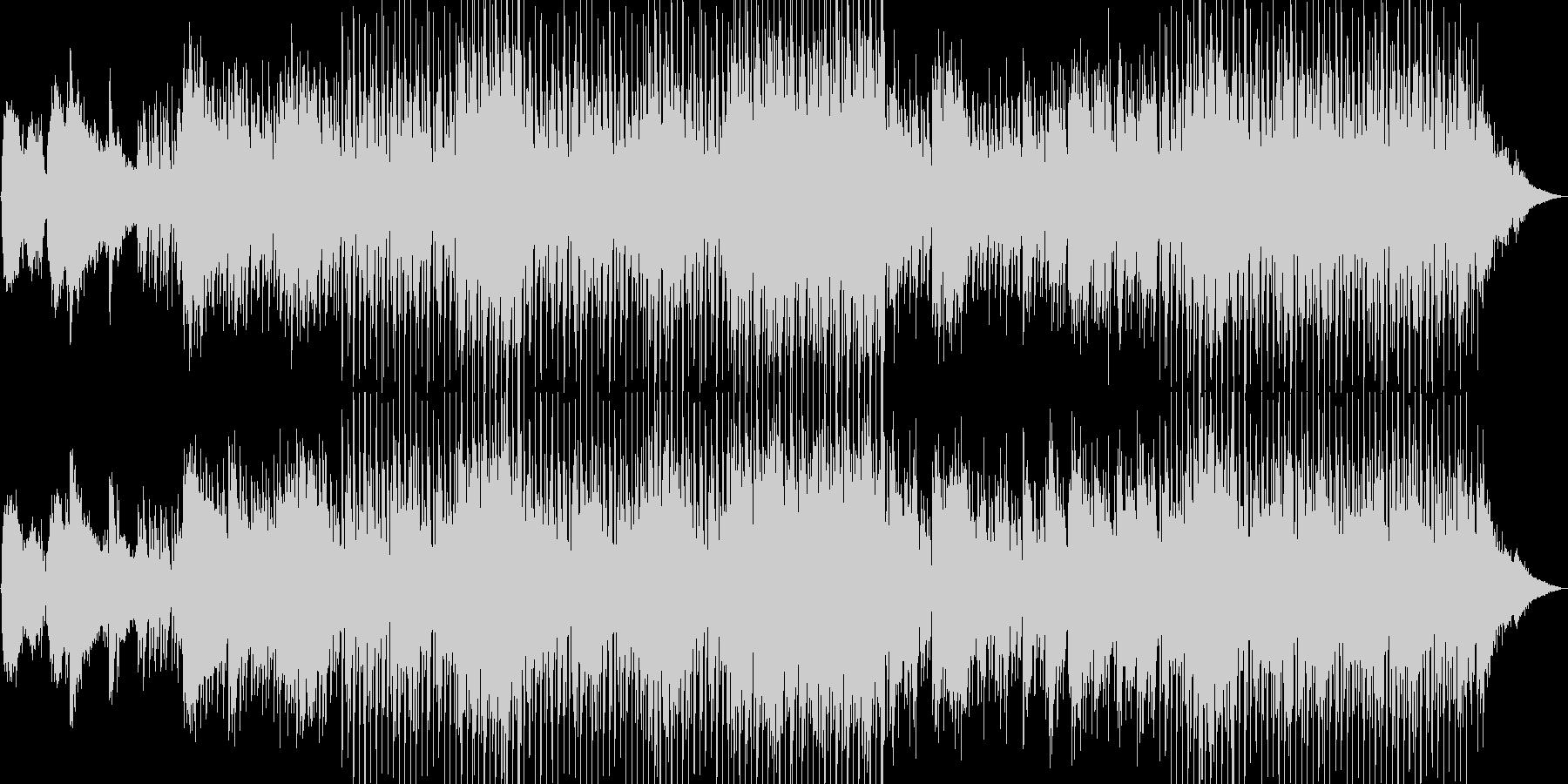 民族楽器がエキゾチックな雰囲気のBGMの未再生の波形