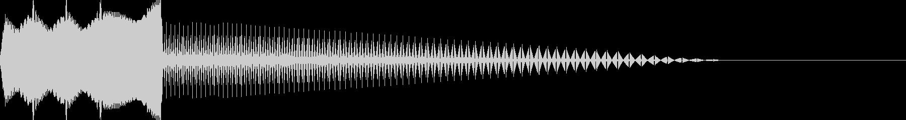 ピギャー(エラー/警告/出現/ノイズGBの未再生の波形