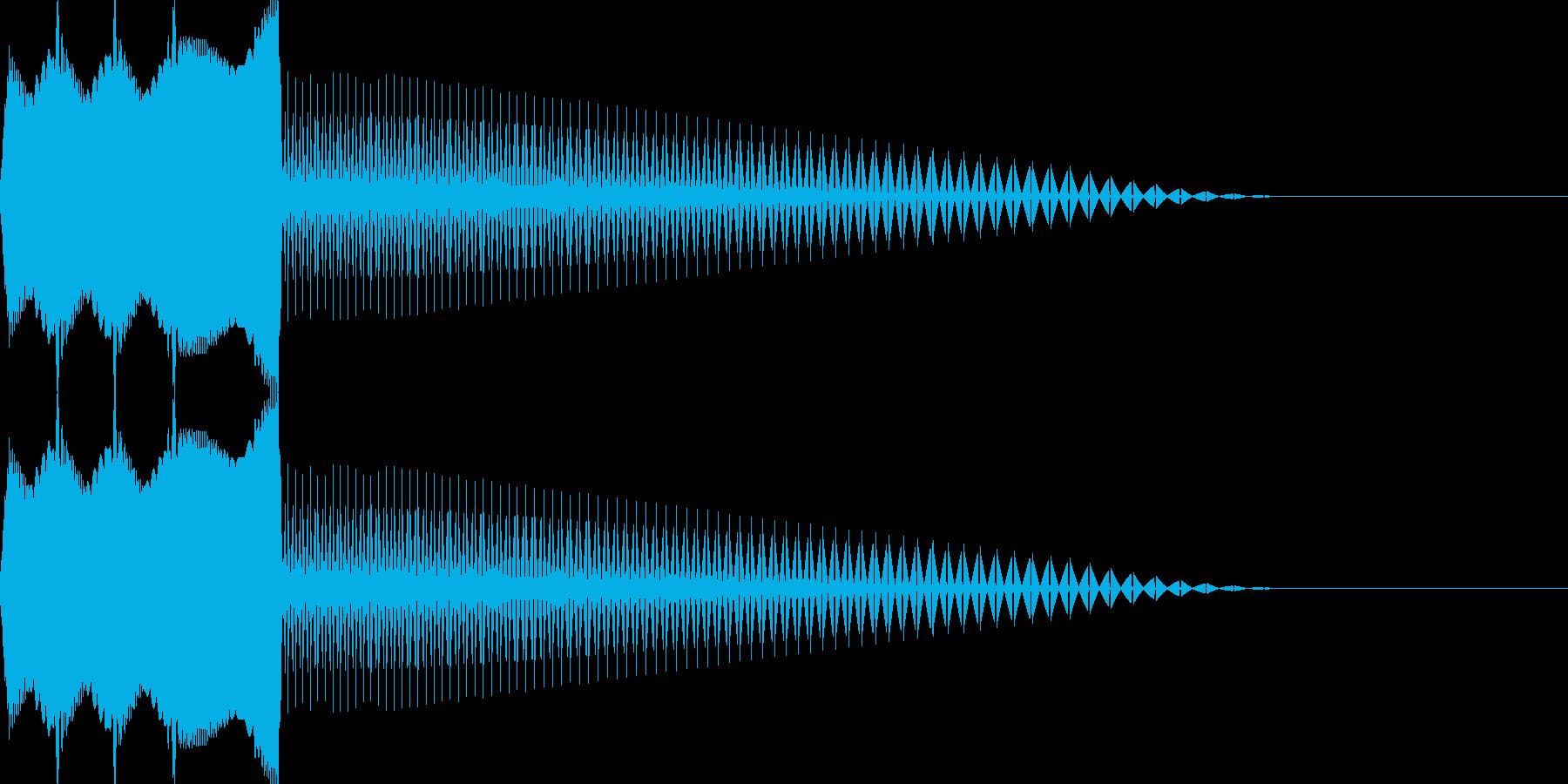 ピギャー(エラー/警告/出現/ノイズGBの再生済みの波形