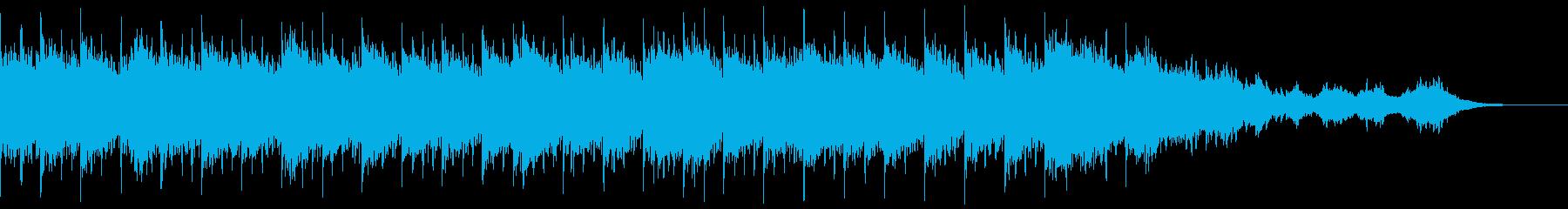 結晶ノ森:幻想的・煌めくピアノループの再生済みの波形