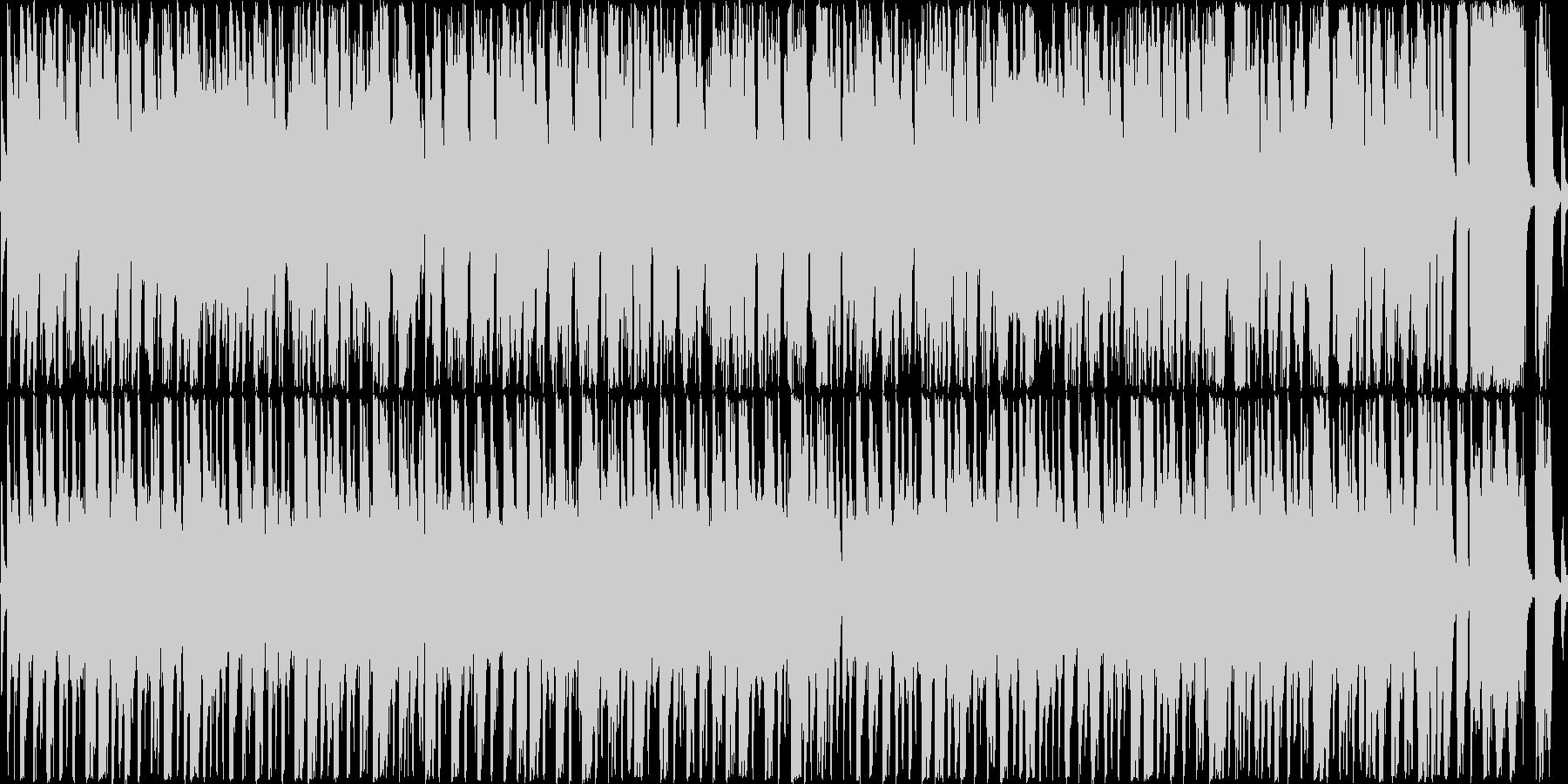 ロシアの民謡風のイメージです。の未再生の波形