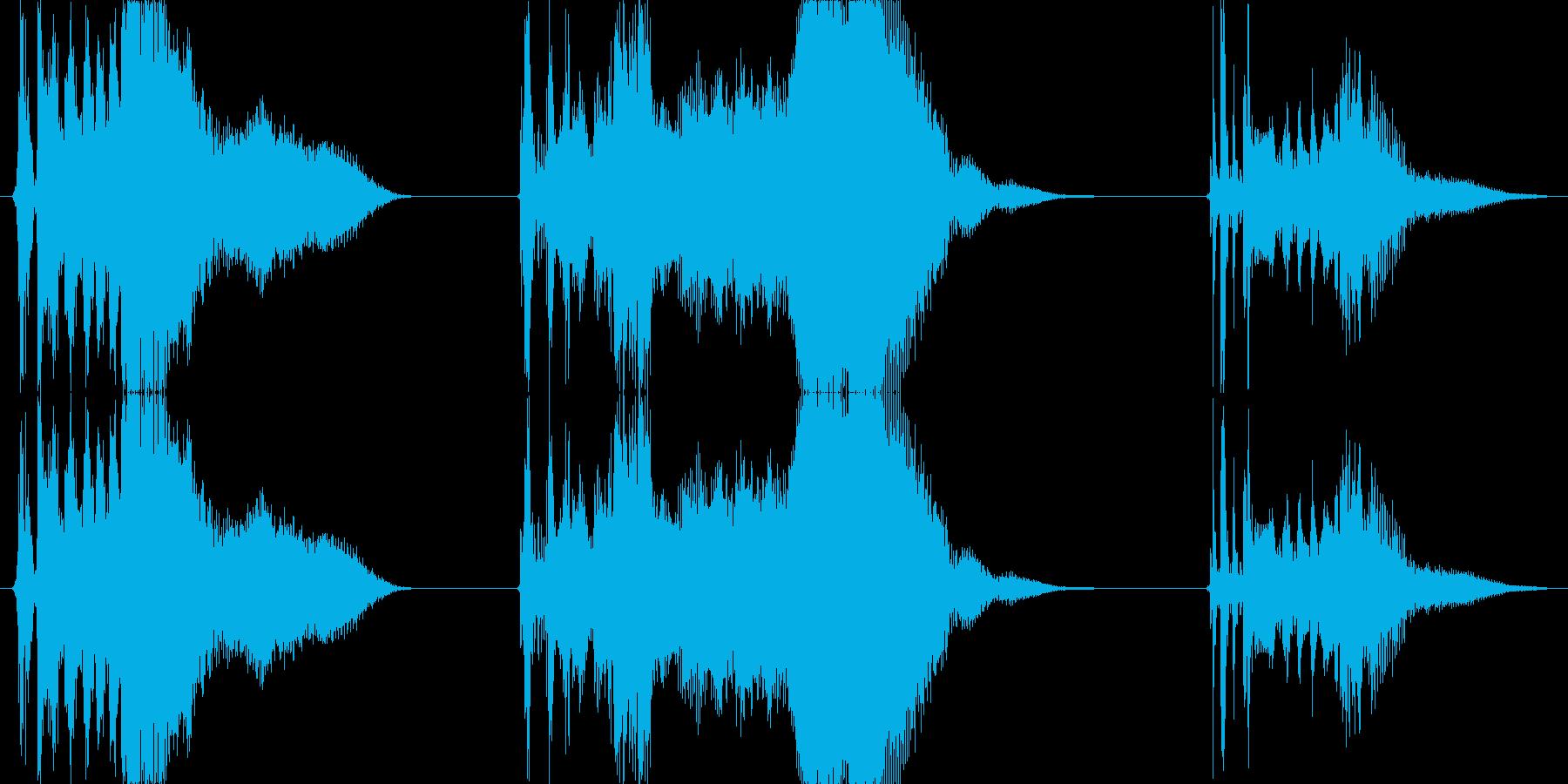 車 カースタート06の再生済みの波形