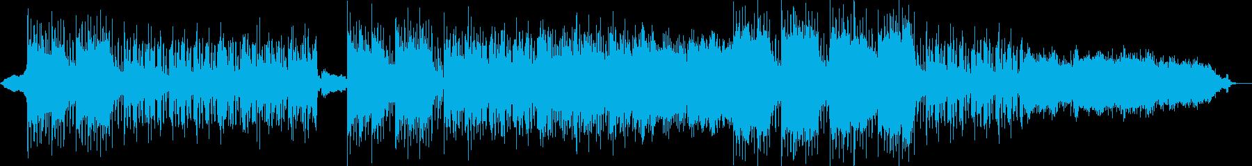 エレクトロトランス。進歩的でとても...の再生済みの波形