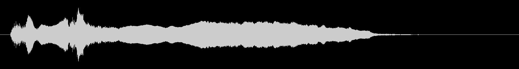 尺八ソロによるジングル_04の未再生の波形