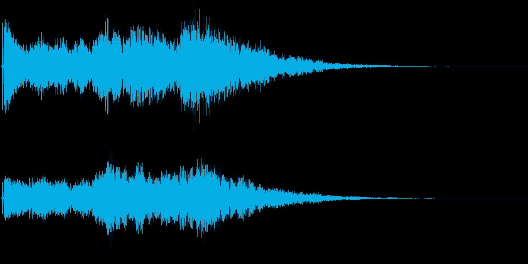 オープニング用ジングル80/ショートの再生済みの波形