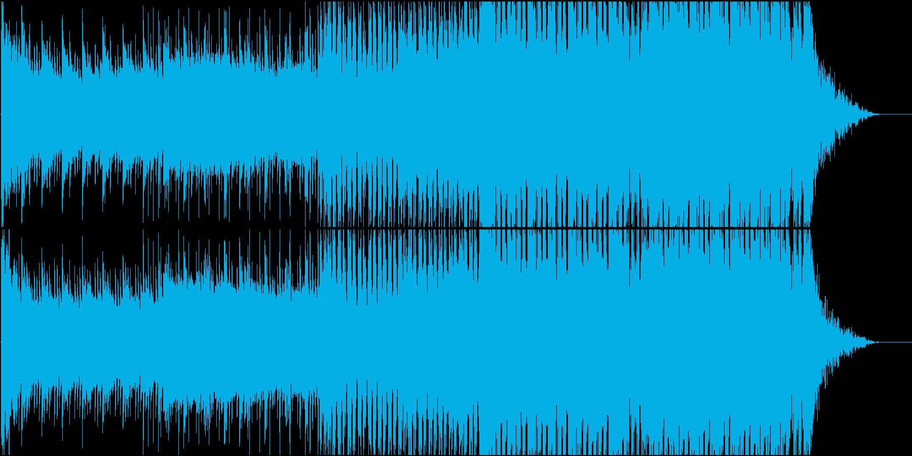 爽やかでメロディアスなEDMの再生済みの波形