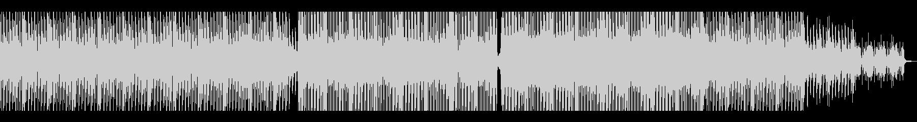 【短いVer2】80年代風テクノポップの未再生の波形