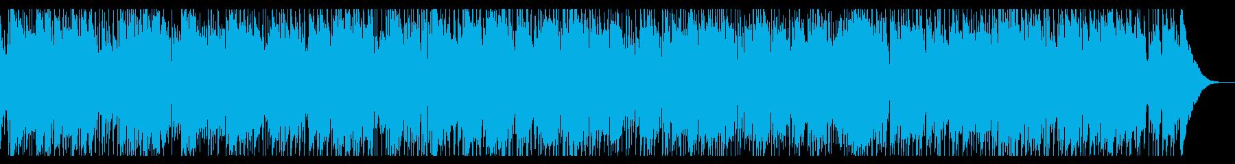 生演奏トランペットおしゃれスムースジャズの再生済みの波形