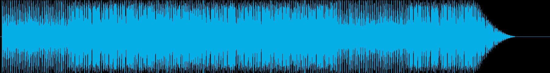 ほのぼのとかわいいアコースティック系楽曲の再生済みの波形