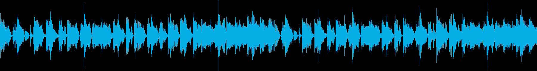 ポップなダンスBGM【ループ対応】の再生済みの波形