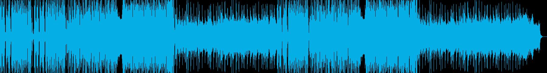高音質♪レトロ風ピアノ曲カット版ありの再生済みの波形