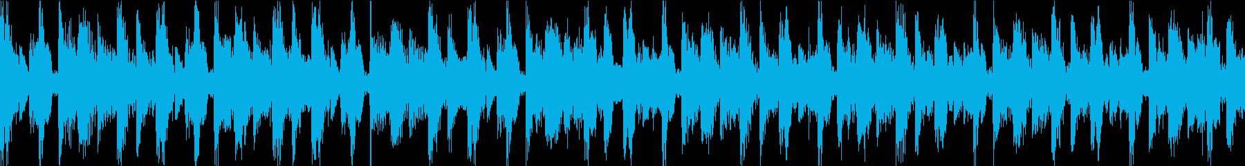 ニュース ドキュメント ループの再生済みの波形