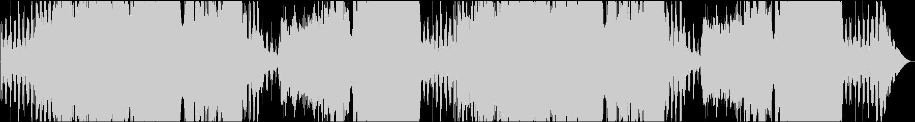 壮大なフィールドイメージのオーケストラの未再生の波形