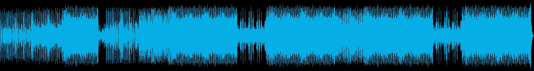 非常にカラフルなシンセメロディとモ...の再生済みの波形