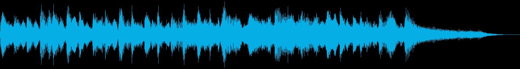 FIDDLE DANCE TAGの再生済みの波形