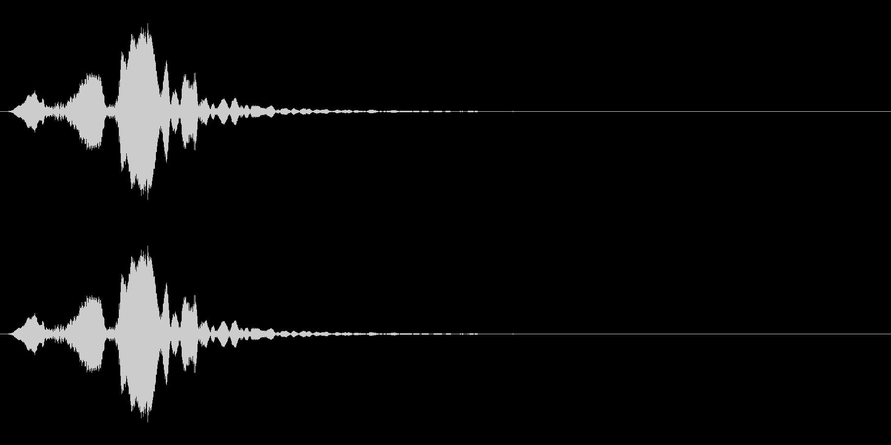 ホイッスルの音_04(ピッ)の未再生の波形