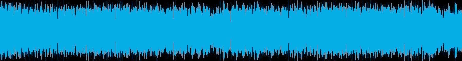 ポップで爽やかなEDM(30秒ループ)の再生済みの波形
