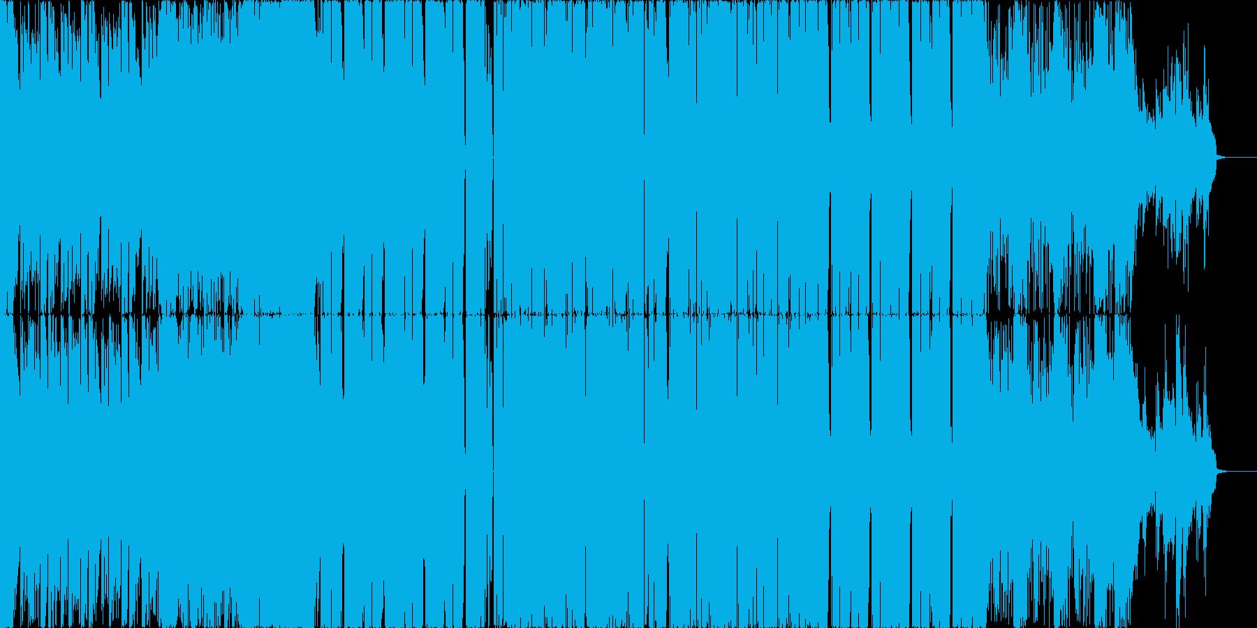 【洋楽EDM】ポップで明るめ・インパクトの再生済みの波形