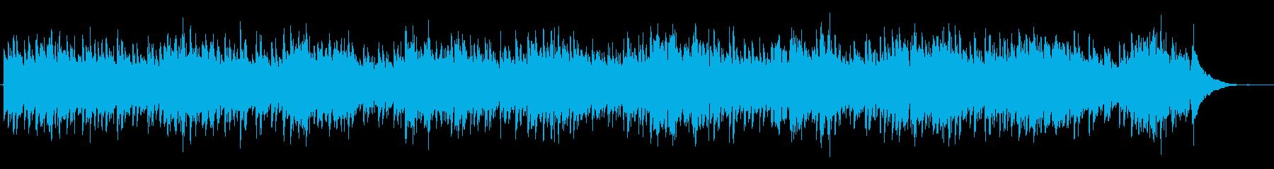 カントリー調の爽やかなアコギの再生済みの波形