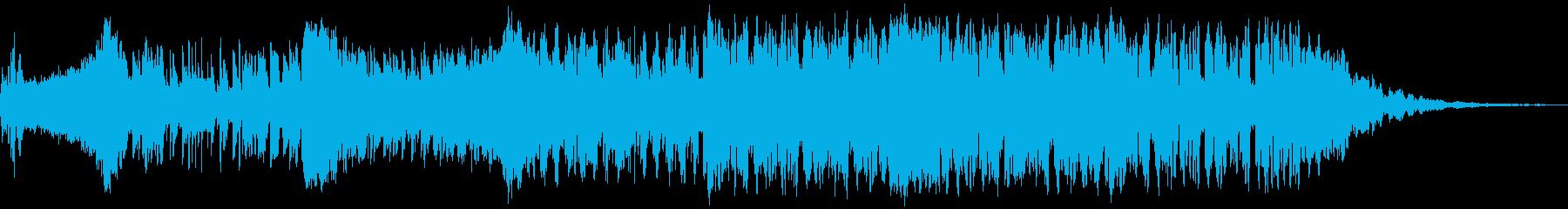 入場曲にも使える疾走感のあるEDMの再生済みの波形