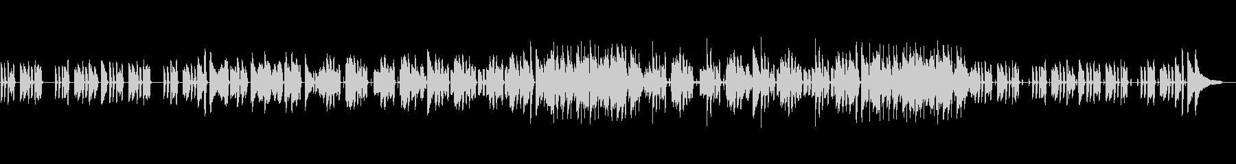 ジャズ・コミカル・ほのぼの・日常の未再生の波形