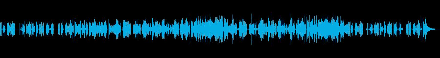 ジャズ・コミカル・ほのぼの・日常の再生済みの波形