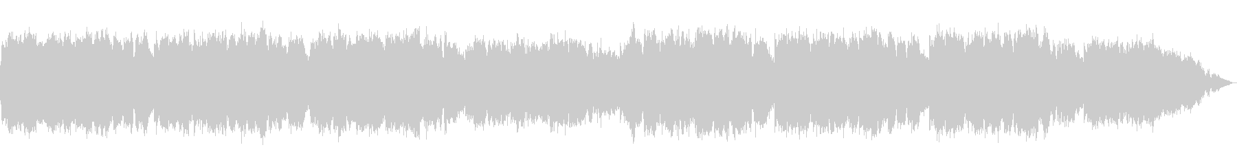 即興的な笛のヒーリング音楽の未再生の波形
