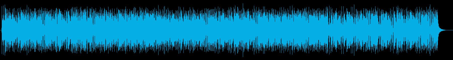 陽気で明るいポップなジャズサウンドの再生済みの波形