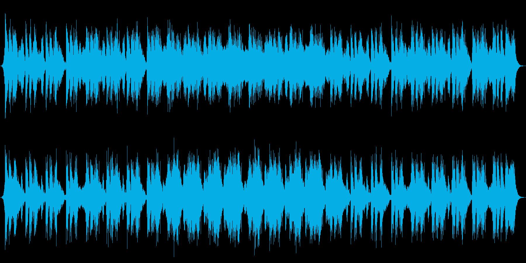 決戦前、緊張感のあるEpicオーケストラの再生済みの波形