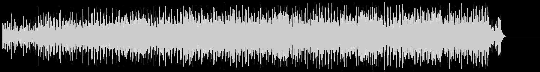 ダンサブルビートのエレクトロポップの未再生の波形