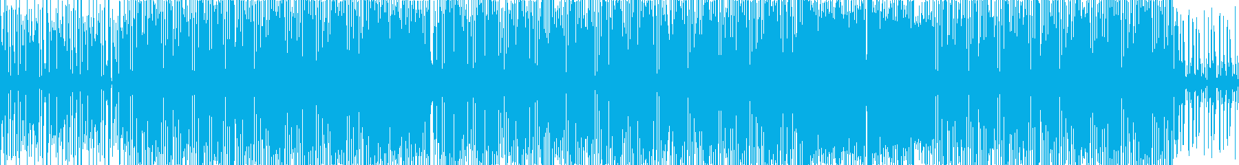 日常系かわいいFUNKの再生済みの波形