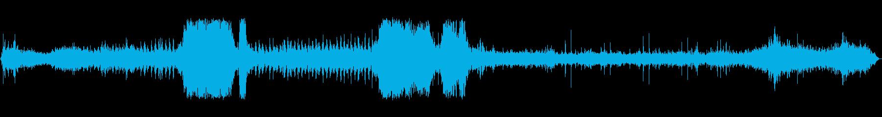 狭軌蒸気機関車:機内、外装:定常エ...の再生済みの波形