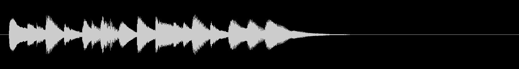 ほのぼのちゃんちゃんお料理マリンバ三重奏の未再生の波形