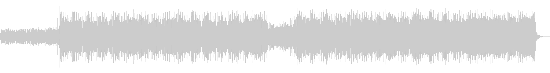 CMや映像に ポップなギターロックの未再生の波形