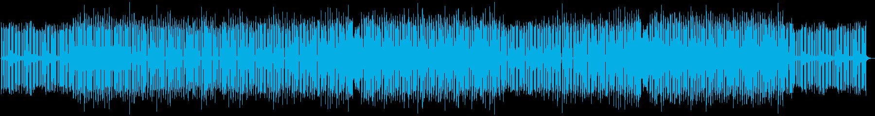 明るく前向きで軽快なハウス・エレクトロの再生済みの波形