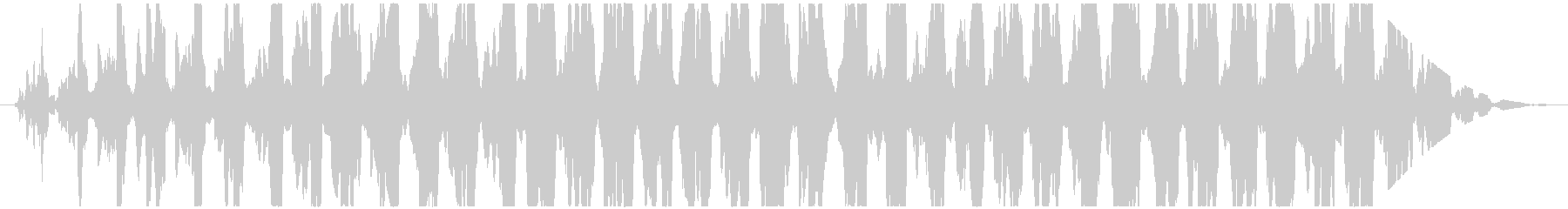 透明感のある通信音のような不思議な効果音の未再生の波形