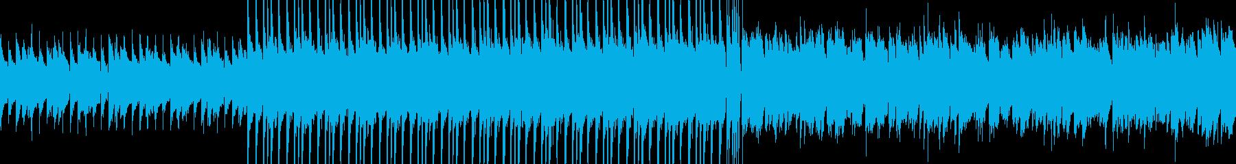 【ループ】ワイルド・ローテンポなロックの再生済みの波形