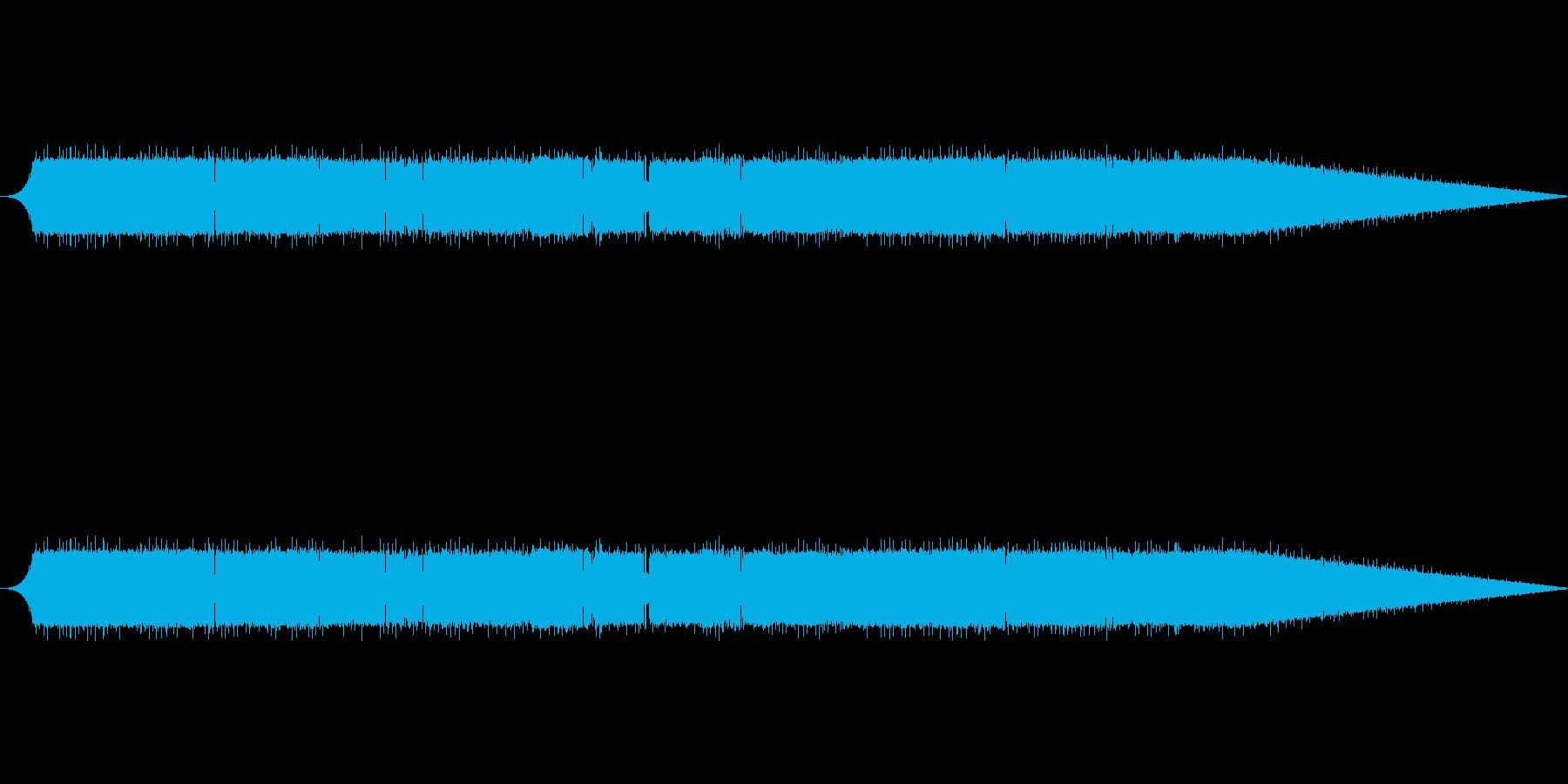 夜のセミ1-00の再生済みの波形