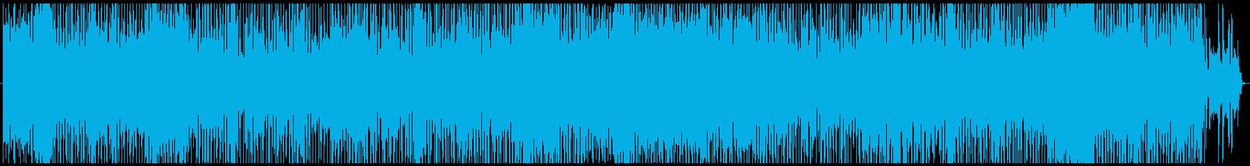 ほのぼのしたオールディ-ズ風童謡ポップスの再生済みの波形