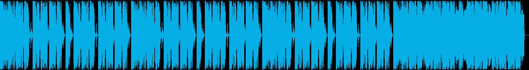 【EDM】ロング9、ミディアム2の再生済みの波形