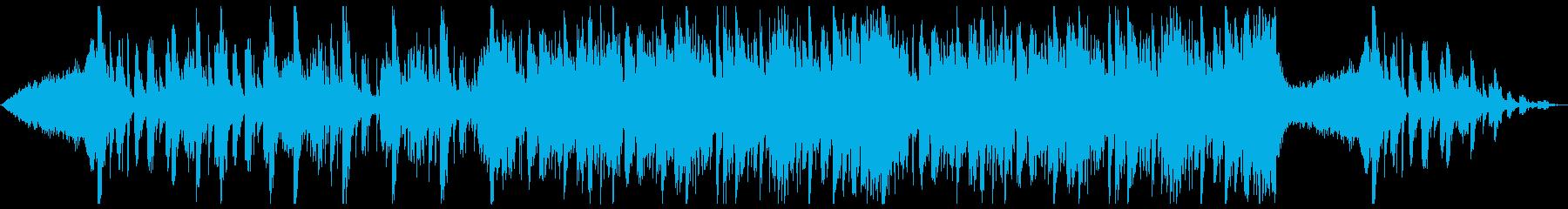 緊迫した空気感を演出する曲の再生済みの波形