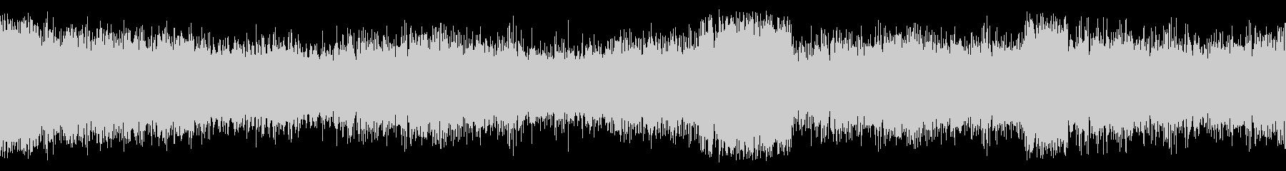 双方向無線:静的、通信、ノイズ静的...の未再生の波形