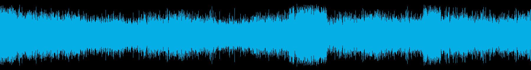 双方向無線:静的、通信、ノイズ静的...の再生済みの波形