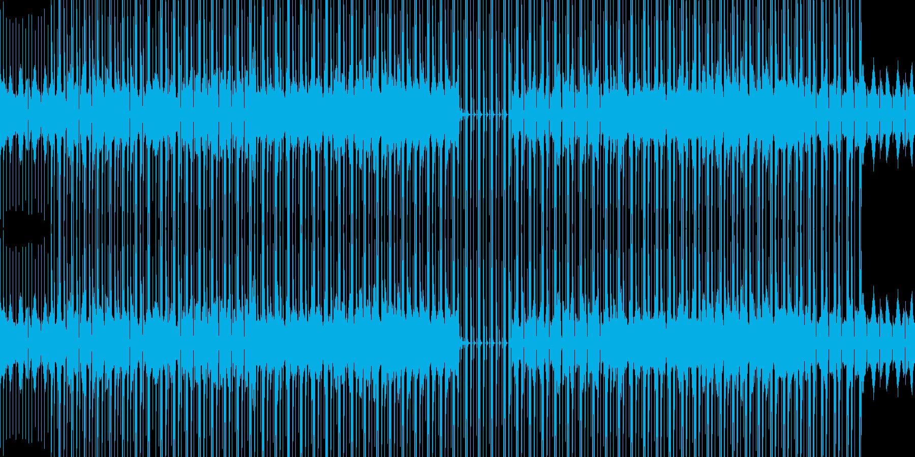 ボス戦orダンジョンBGMの再生済みの波形