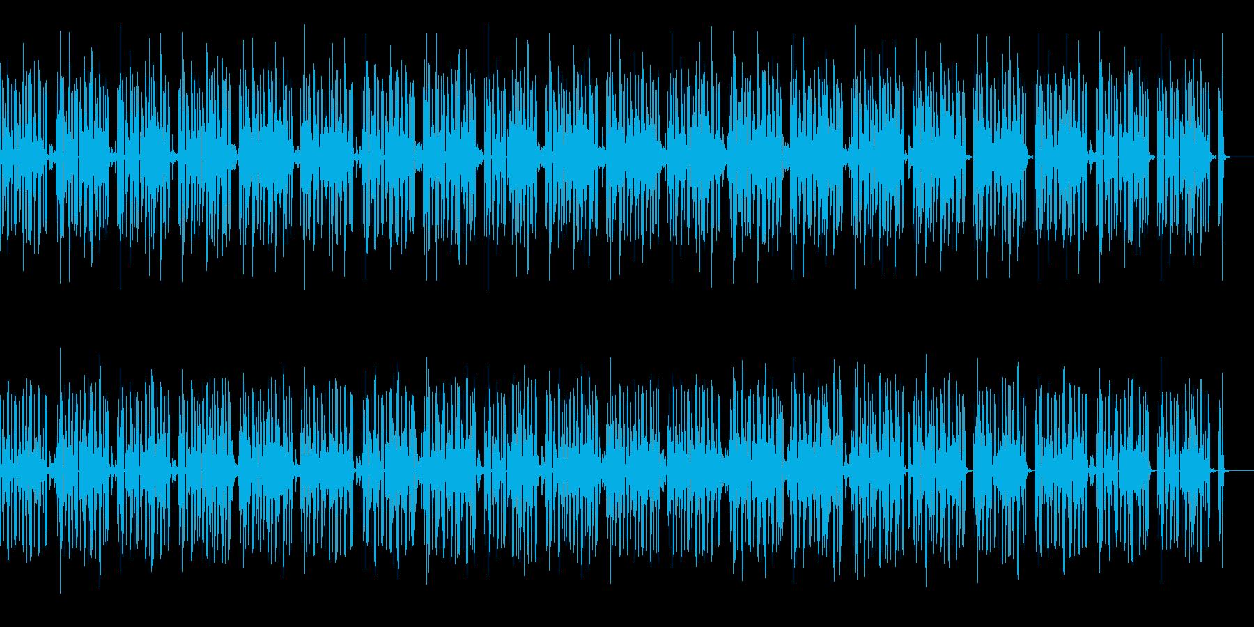 少しまぬけなほのぼのした場面のBGMですの再生済みの波形